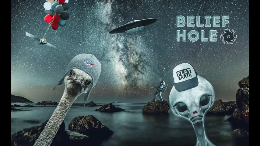 Belief Hole - Episode 1 - UFO Confusion and Flat Earth Fever