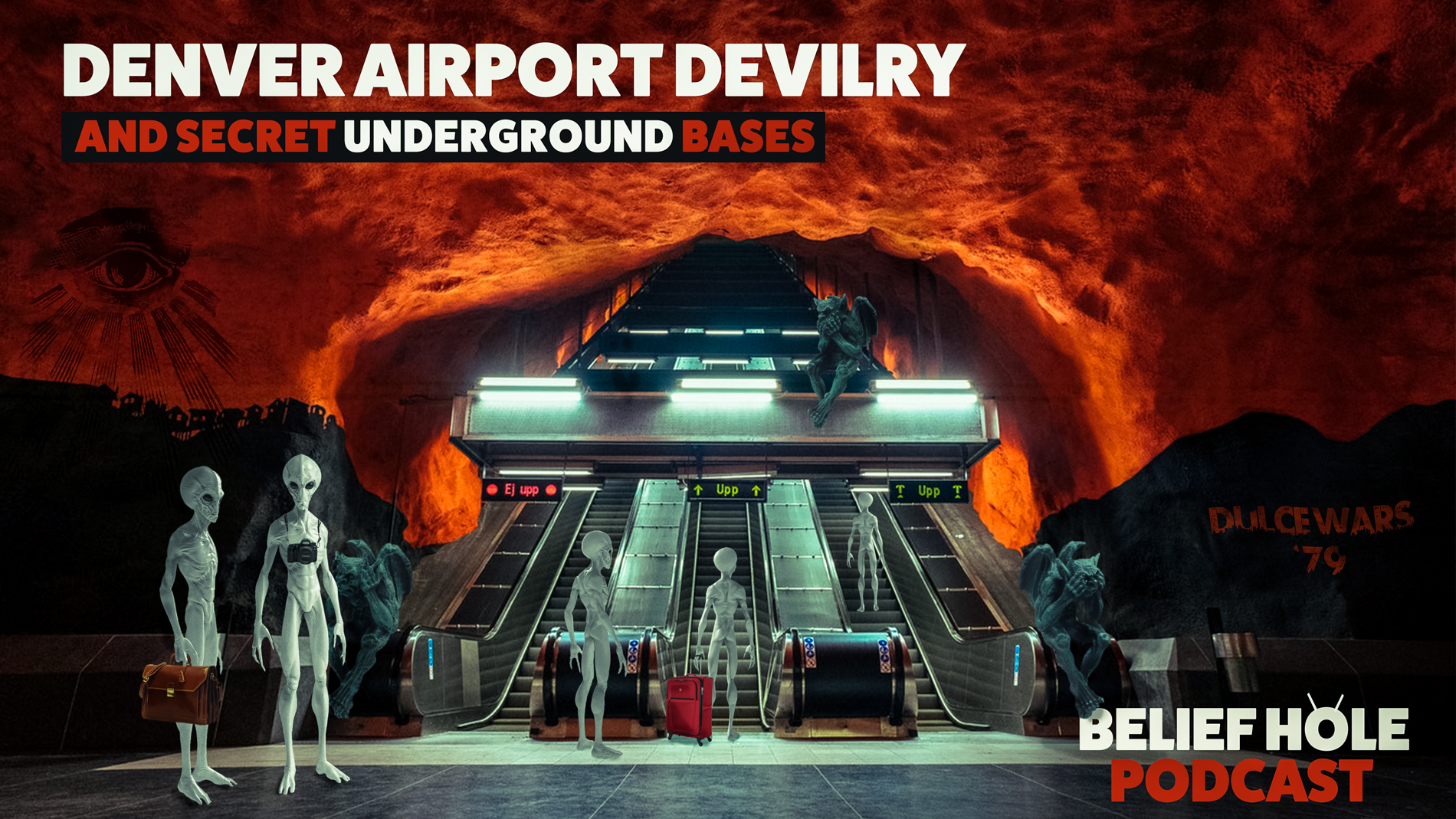 Denver Airport Conspiracy - Underground Bases - Dulce