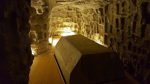 Serapeum of Saqqara - 100 Ton Stone Boxes - Belief Hold Podcast