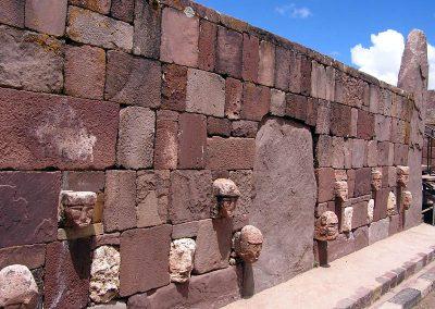 Wall of Faces at Puma Punku