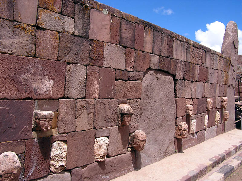 Wall of Faces at Puma Punku