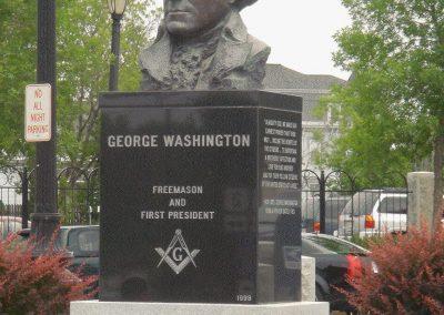 George Washington Freemason Statue