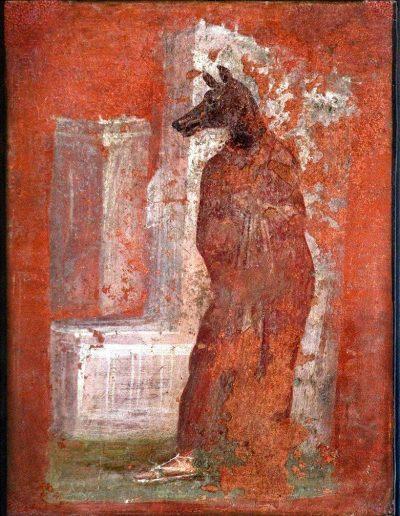 Cynocephali/ Dogman - Painting - Pompeii