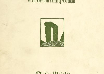 Druidism - The Ancient Faith of Britain - Dudley Wright - 1924