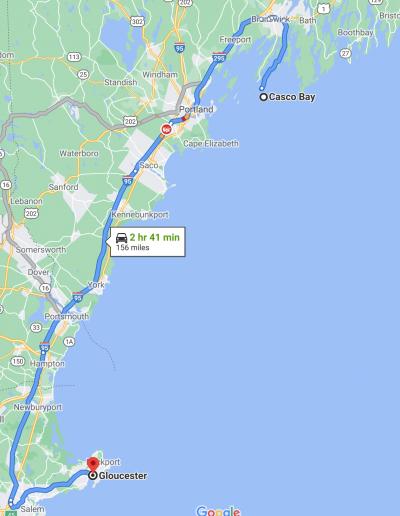 Sea Serpent Attack Range - New England
