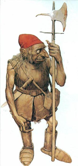 Redcap - Murderous Dwarf - Fairy Lore