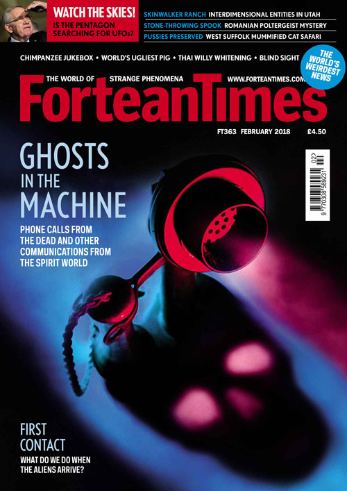 Fortean Times - Issue 363 - Ghost in the Machine - Podcast