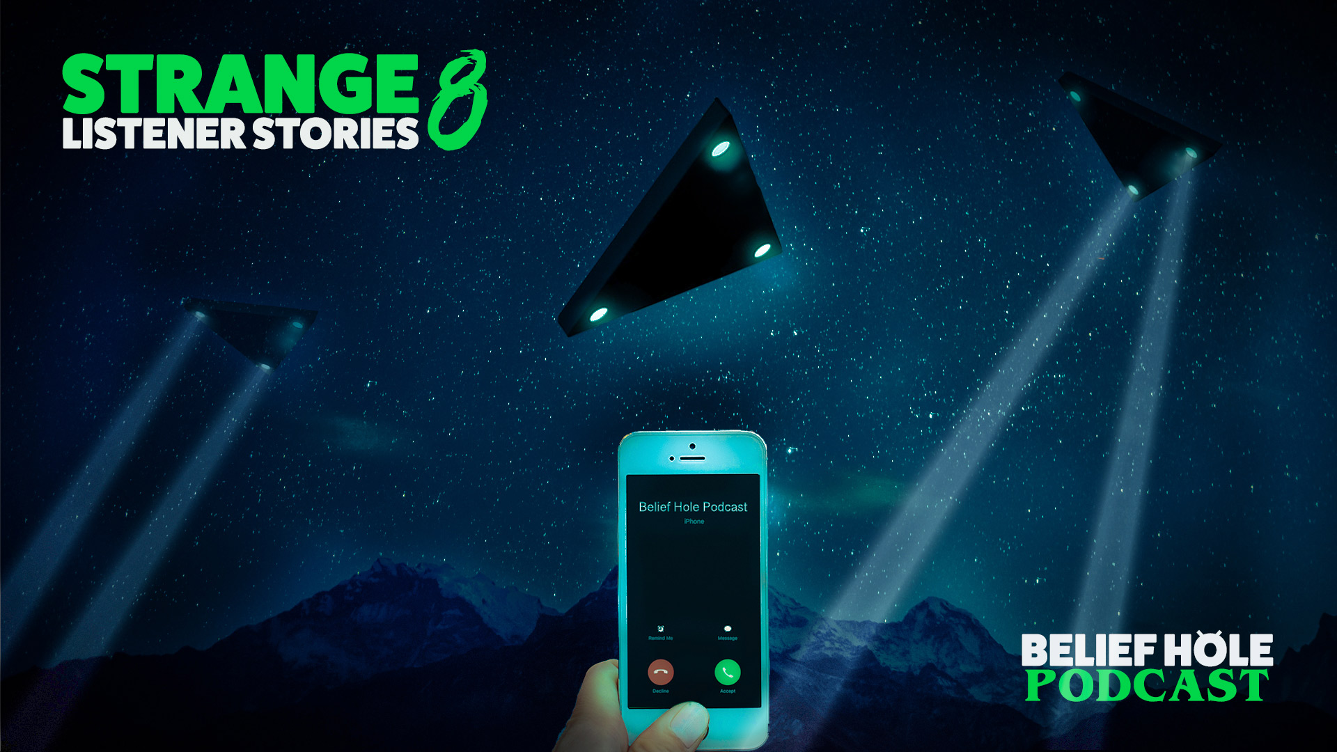 3.10 | Listener Stories 8 | Triangle UFOs, Winged Humanoids, Ouija Board Ghosts, Disembodied Hands