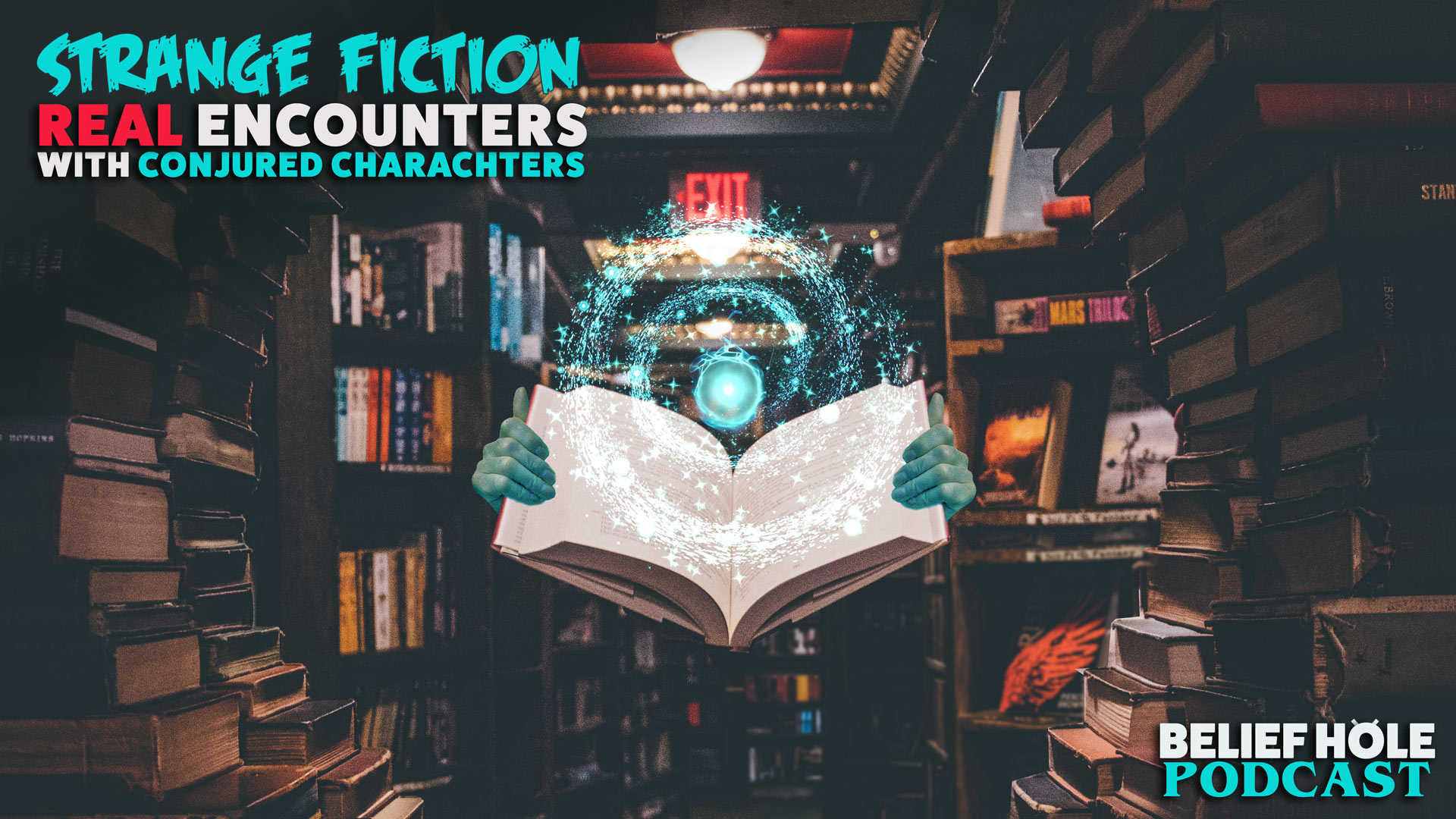 3.12 | Strange Fiction: Real Encounters with Conjured Characters