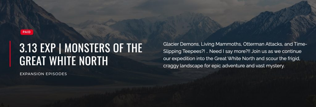 Monsters of Nahanni and the Great White North - Podcast
