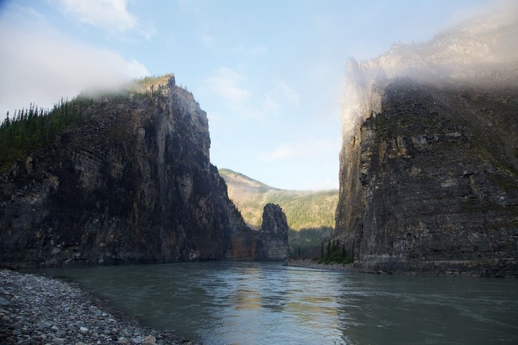 The+Gate+&+Pulpit+Rock,+South+Nahanni+River- headless valley podcast
