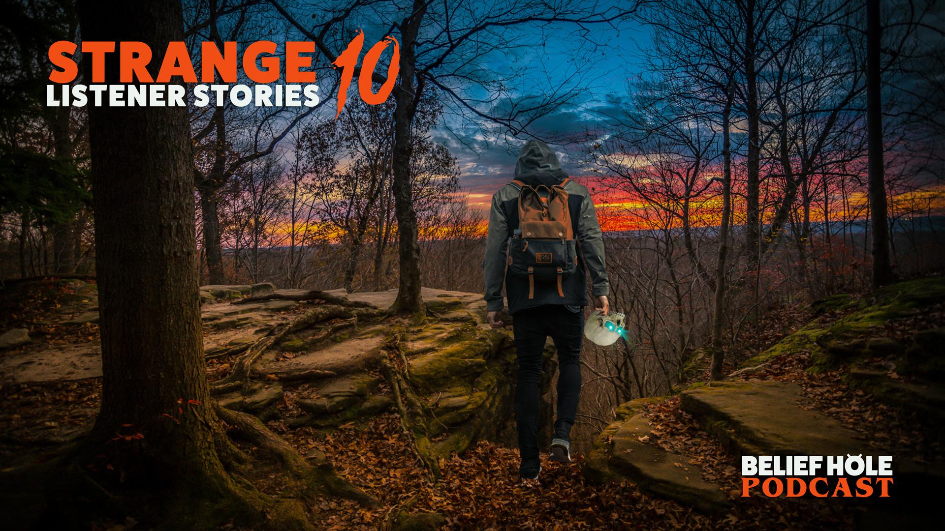 3.14 | Strange Listener Stories 10 – Haunted Woodland Skulls, Backroad UFO Standoffs, and Weather-bending House Ghosts