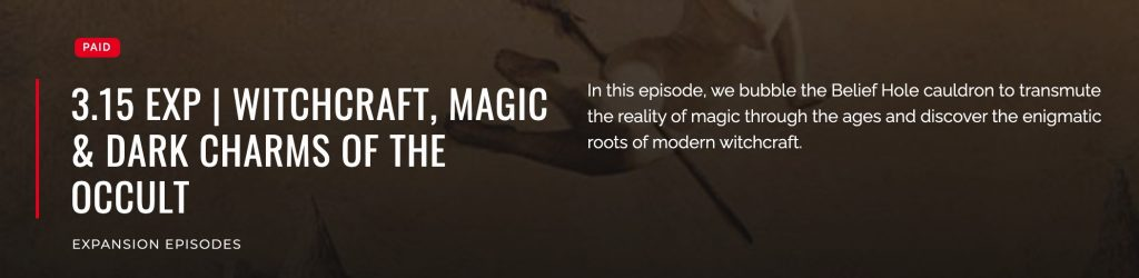 Witchcraft, Magic & Dark Charms of the Occult - Podcast